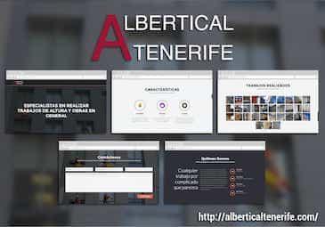 Páginas web Albertical Tenerife