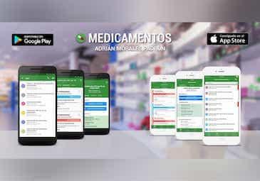 Páginas web Aplicaciones móviles Medicamentos